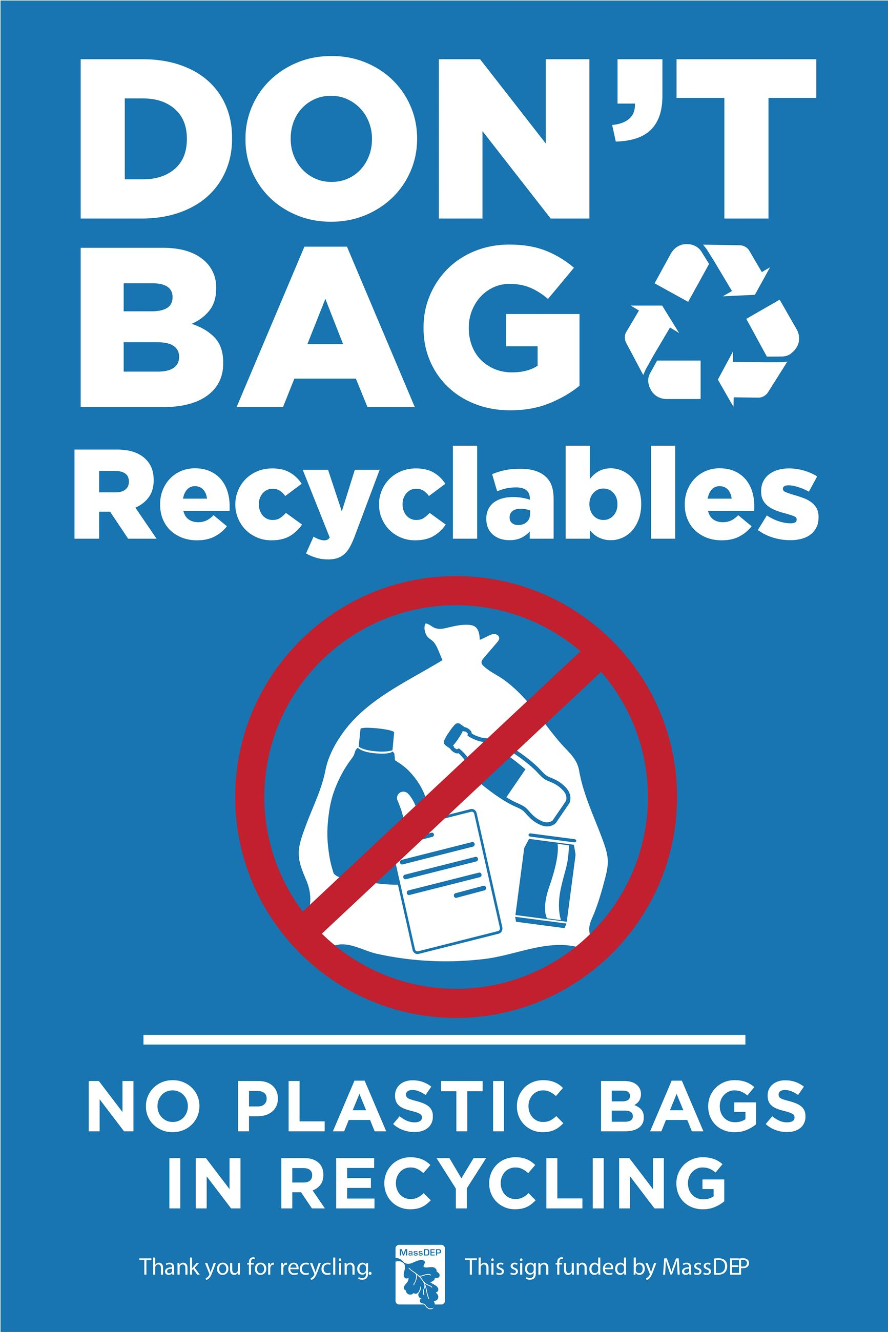 No Bags in Recycling-converted