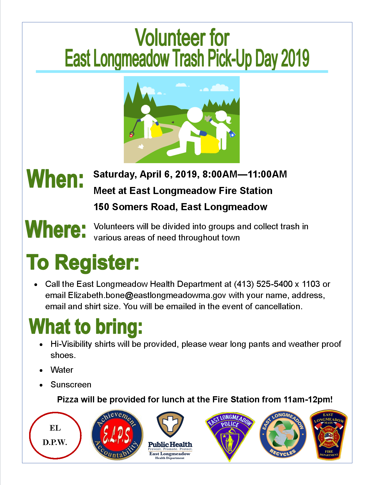 Clean Up Day Flyer 2019