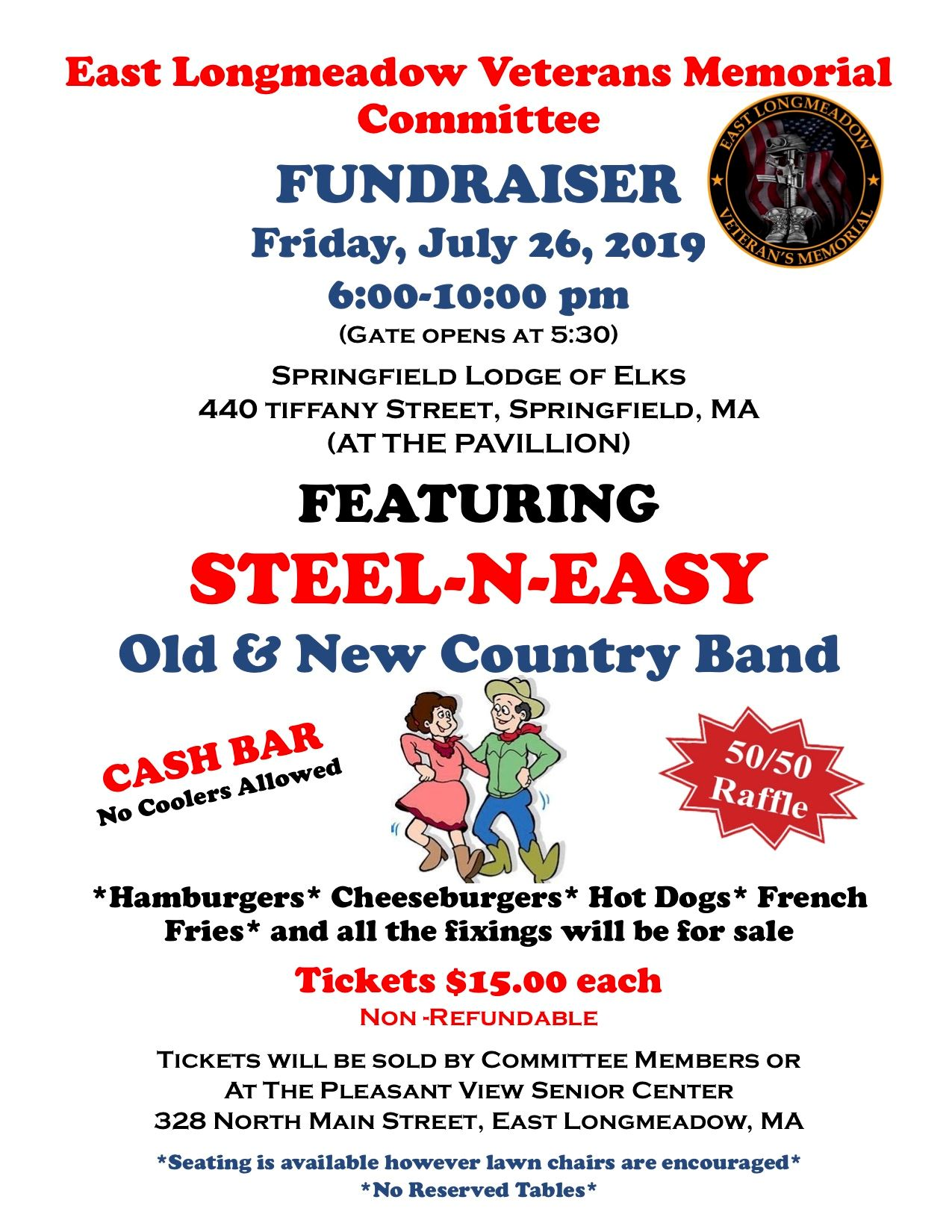 Steel Easy Fundraiser