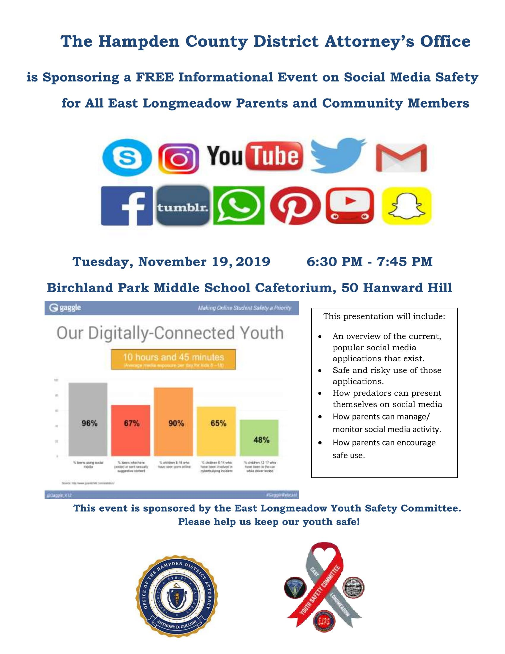 Youth Safety Committee Social Media Flyer for 11-19-19-1